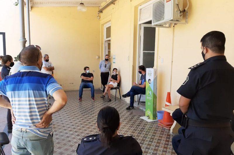 Informe policial: sin heridos, ni detenidos aunque un incremento en el uso de la pirotecnia
