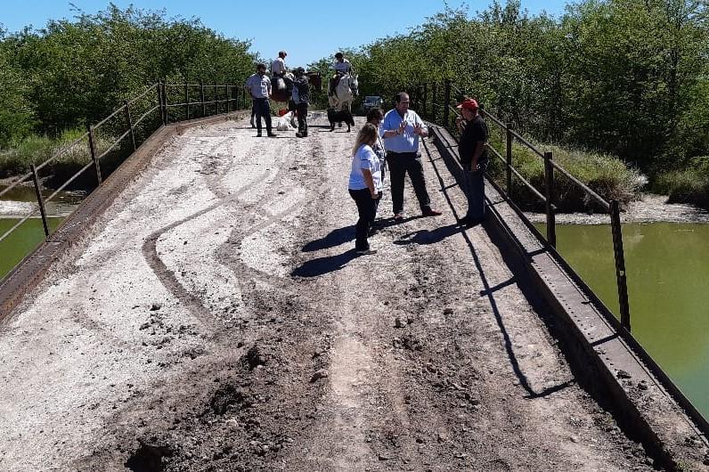 El PRO Mercedes y Coalición Cívica insisten en la reparación del puente de García