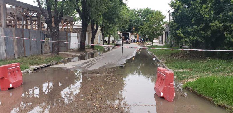Calles cortadas por obras