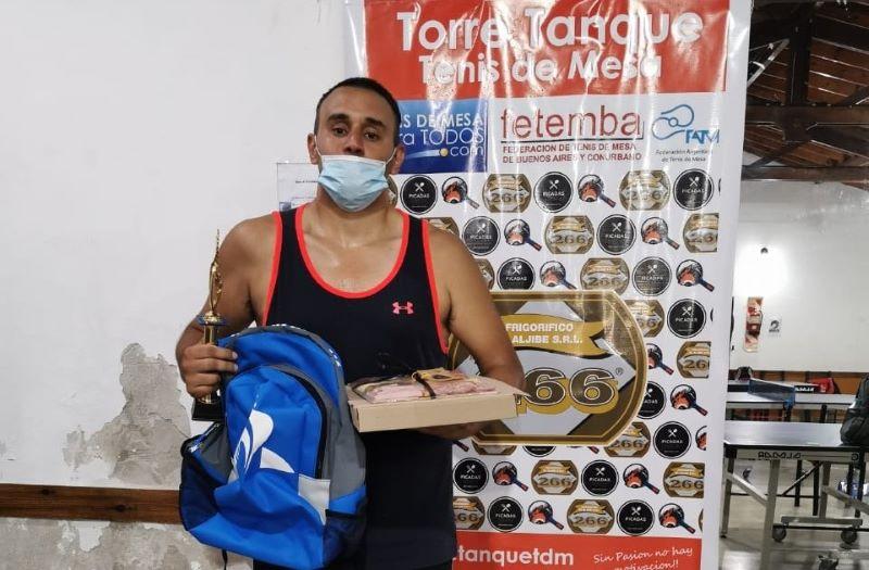 Hernán De Andrea campeón en TMT