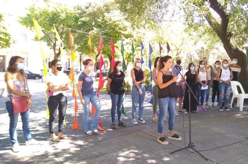 Dirección de Género del Municipio realizó acto conmemorativo por el 8M