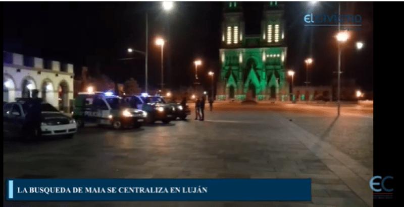 Buscan a Maia en Luján a través de la cámara de seguridad, barrio por barrio