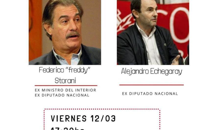 Radicales recibirán a Federico Storani y Alejandro Etchgaray