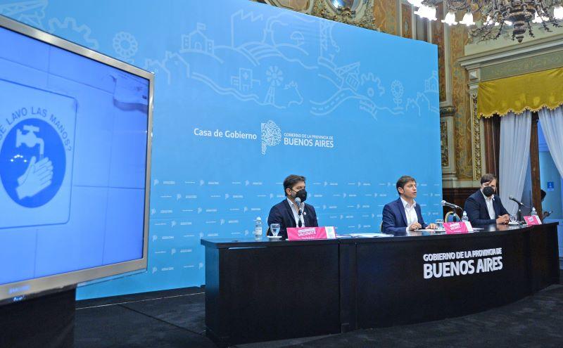 El Gobernador anunció medidas en la provincia de Buenos Aires