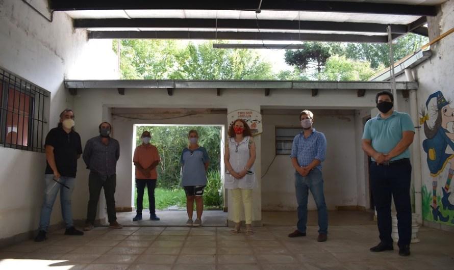 Realizarán obra por 22 millones en Escuela Nº25 y Jardín Nº13 de García