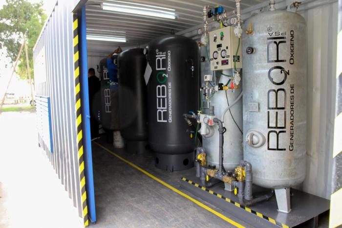 Provincia implementó plan para fortalecer la provisión de oxígeno