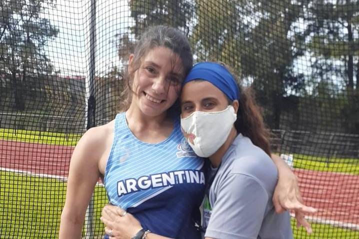 Nuevo récord para Romina Fernández en lanzamiento de clava