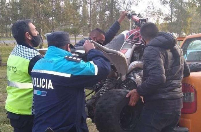 """Se realizaron operativos contra las """"picadas"""" en las Autopistas 5 y 7"""