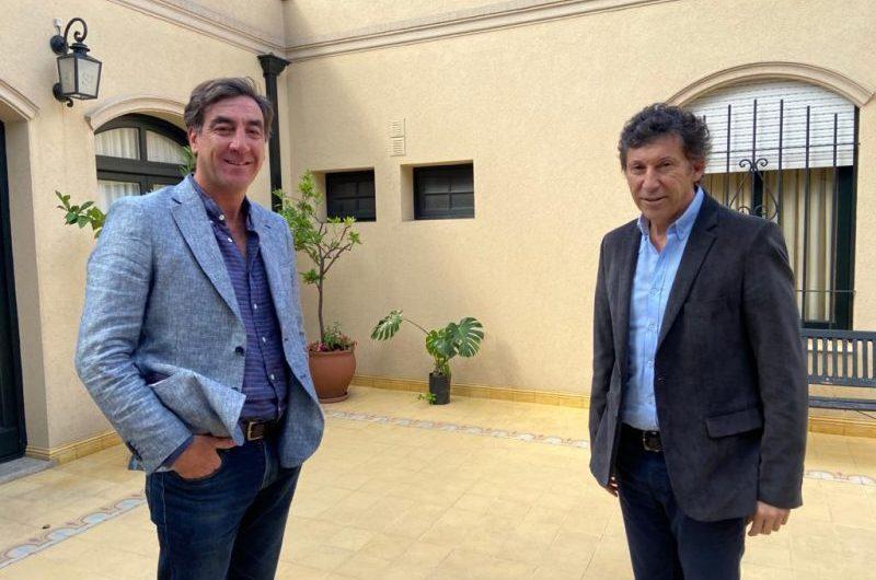 Presidente de UCR Mercedes visitó el Municipio de San Isidro