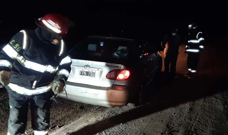 Auto despistó en Ruta 5