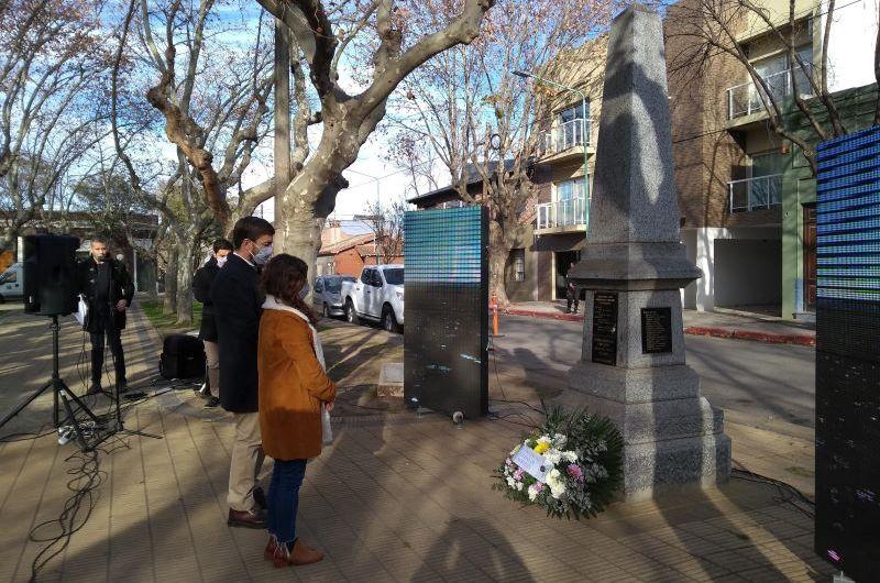 Con un mensaje de unidad Ustarroz encabezó el acto por el 269º Aniversario de Mercedes