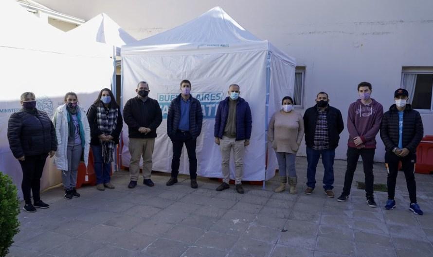 Familias mercedinas se unen solidariamente y agradecen cocinando para el personal de los Centros de Vacunación
