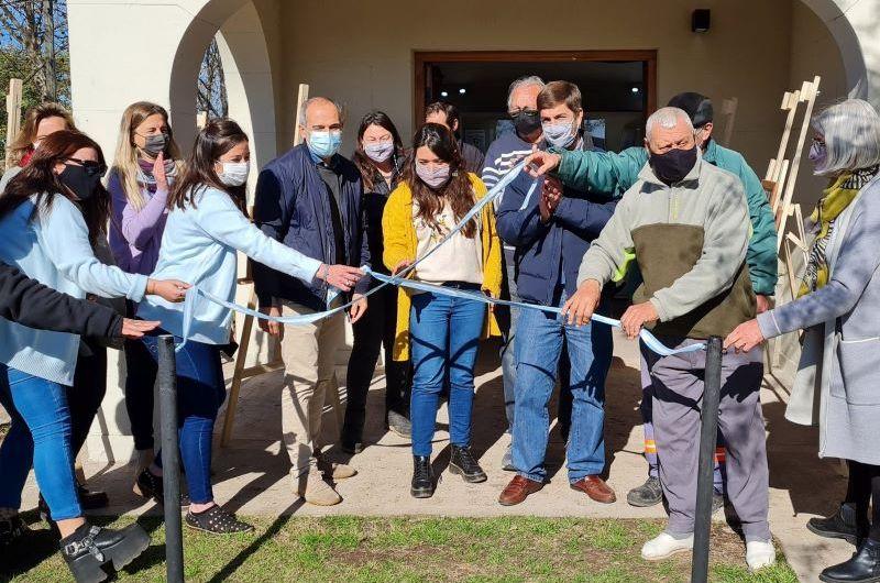 Inauguran Centro de Jubilados Municipales con un museo del sitio