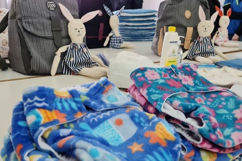 Mil días: Terminó curso de preparto y entregaron ajuares para bebés