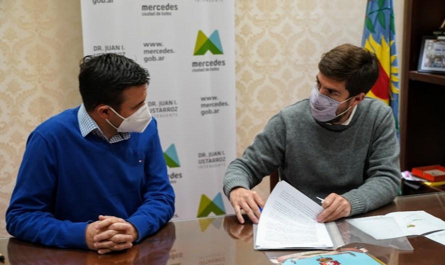 Con aportes de Nación Ustarroz firma inicio para la construcción de 2 nuevos pozos de agua