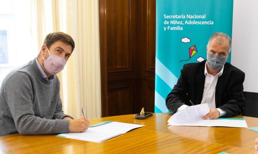 Ustarroz y Lerner firman convenio y ratifican trabajos entre gobierno nacional y municipio