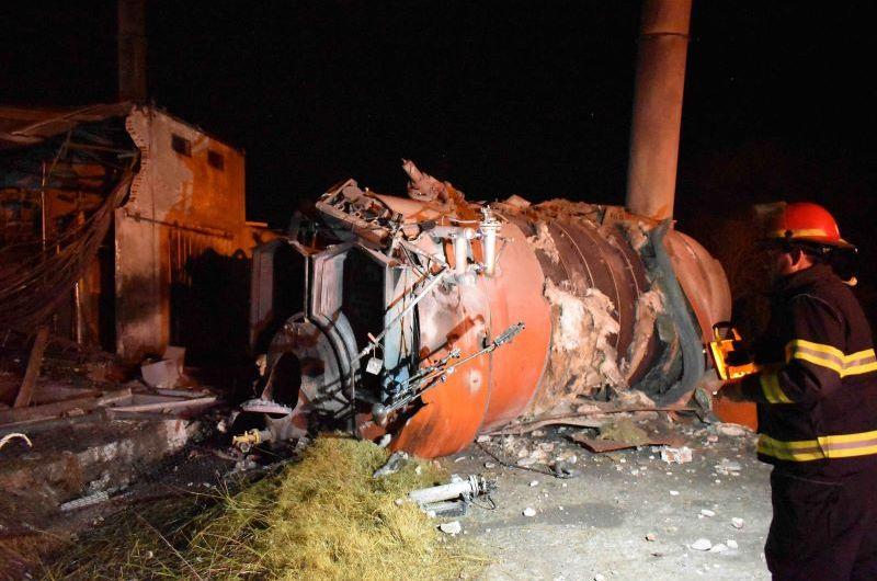 Explota caldera en la empresa láctea La Suipachense