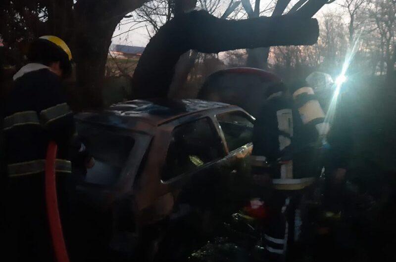 Encontraron a un hombre calcinado adentro de un auto