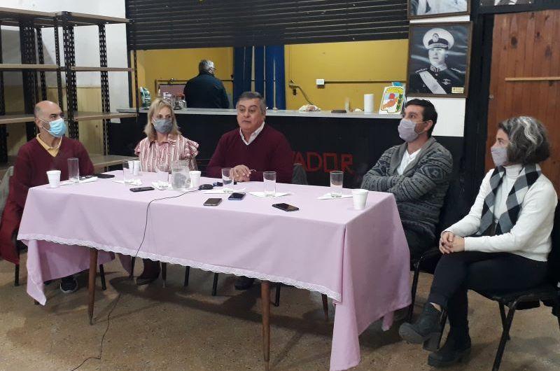 Frente Renovador presentó a sus candidatos que integran la lista local de Frente de Todos