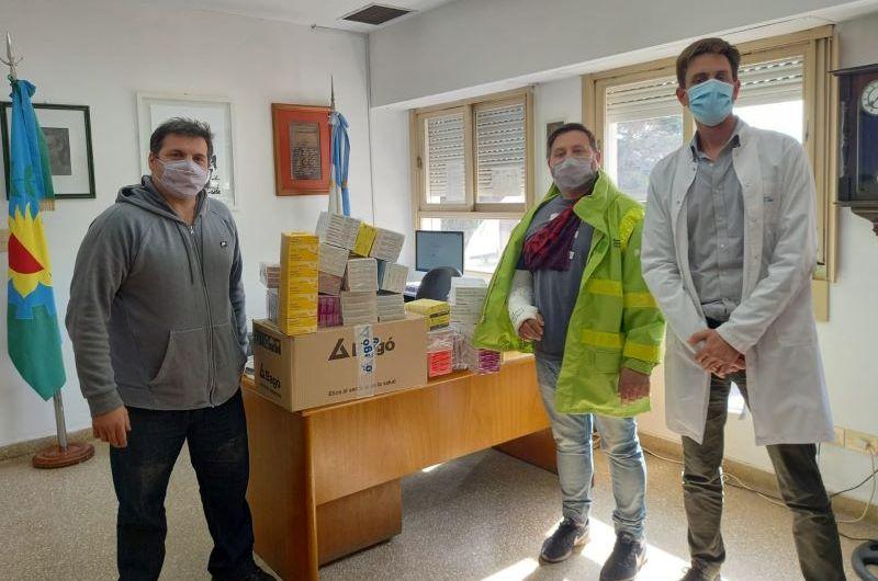Red Reanimar entregó medicamentos donados al Hospital