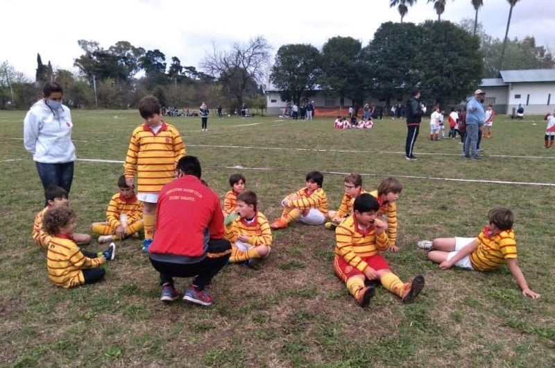 Rugby: Jornada de inferiores para el MRC