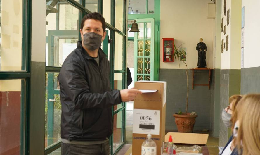 Lalo Révora «Los bonaerenses se deben acercar a las urnas tranquilos y sin temor»