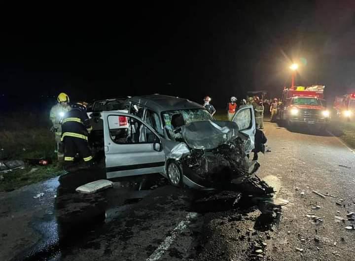 Muere mercedino en siniestro vial sobre ruta 41