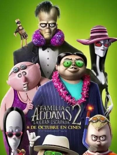 Addams y Venom: las segundas partes en el Cine Mercedes