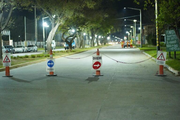 Arrancaron con la demarcación de las ciclovías en la avenida 2