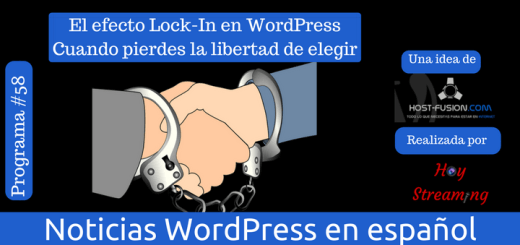 el efecto lock in en WordPress