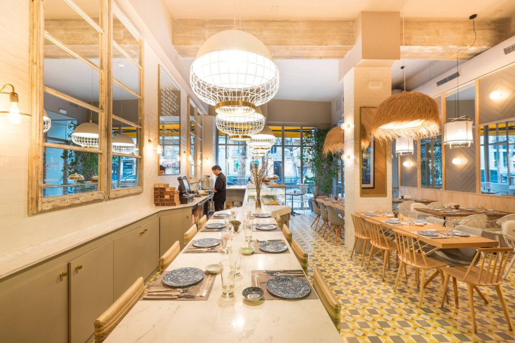 interior restaurante sushita cafe aguilera