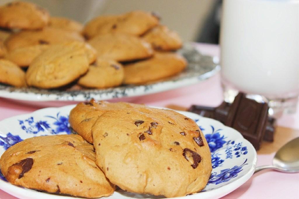cookies americanas de chocolate