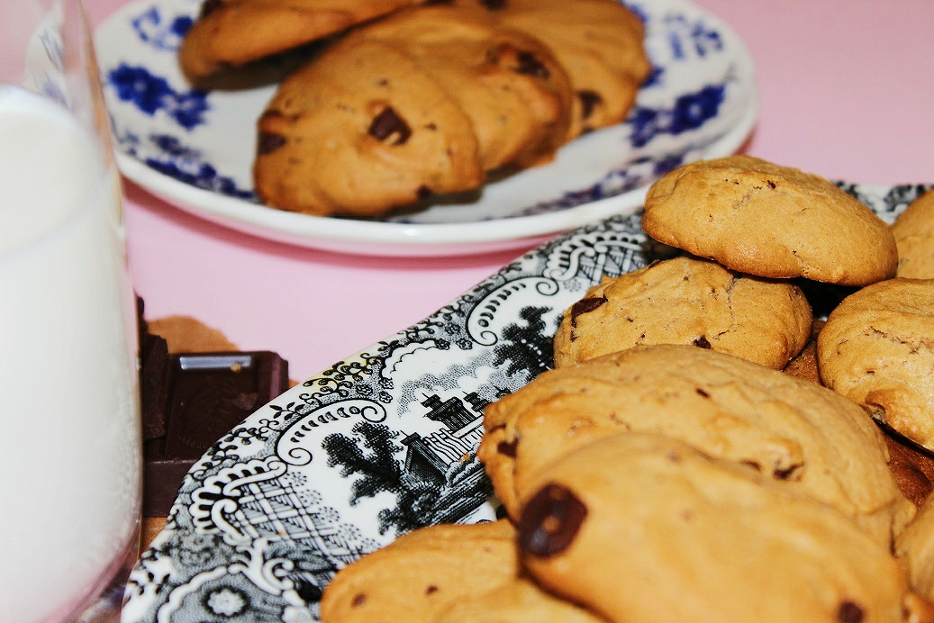 galletas cookies blandas
