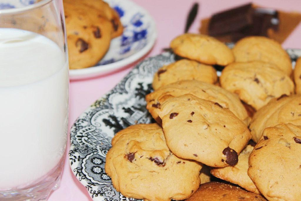 galletas cookies de chocolate