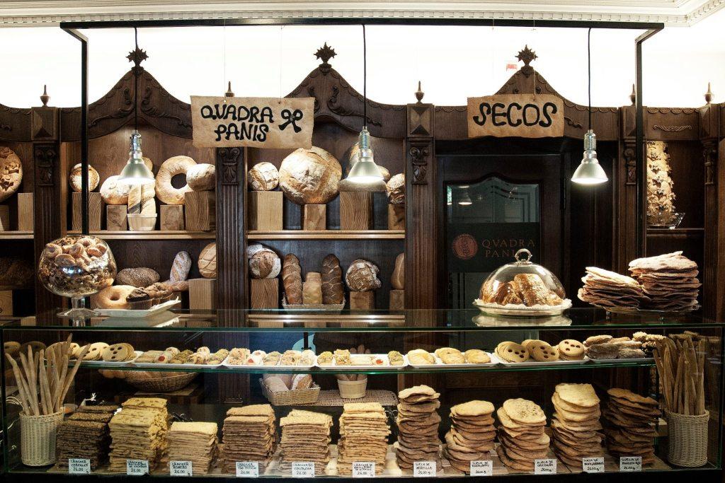 quadra panis mostrador pan