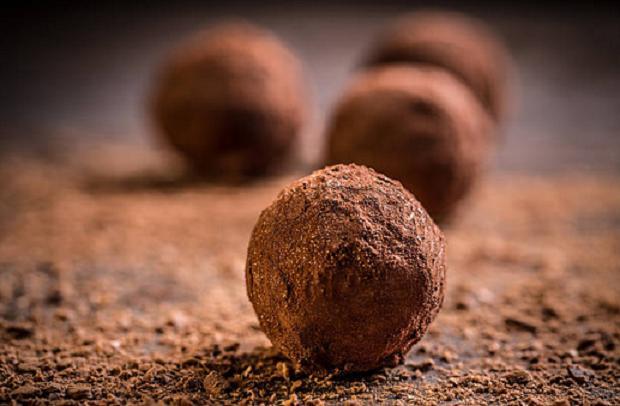 receta trufas chocolate