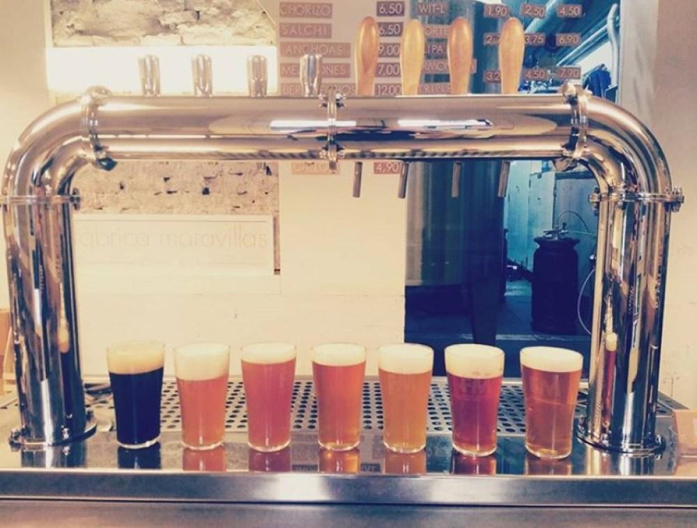fabrica maravillas cerveceria
