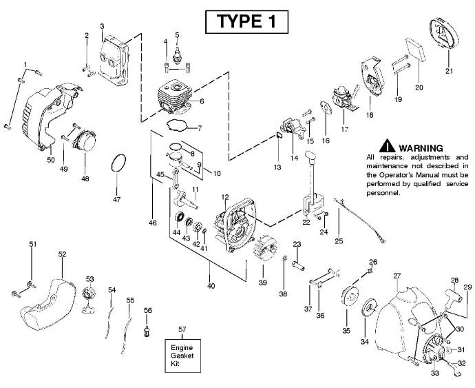 Поршень D34.5 для триммеров и мотокос Husqvarna, Jonsered