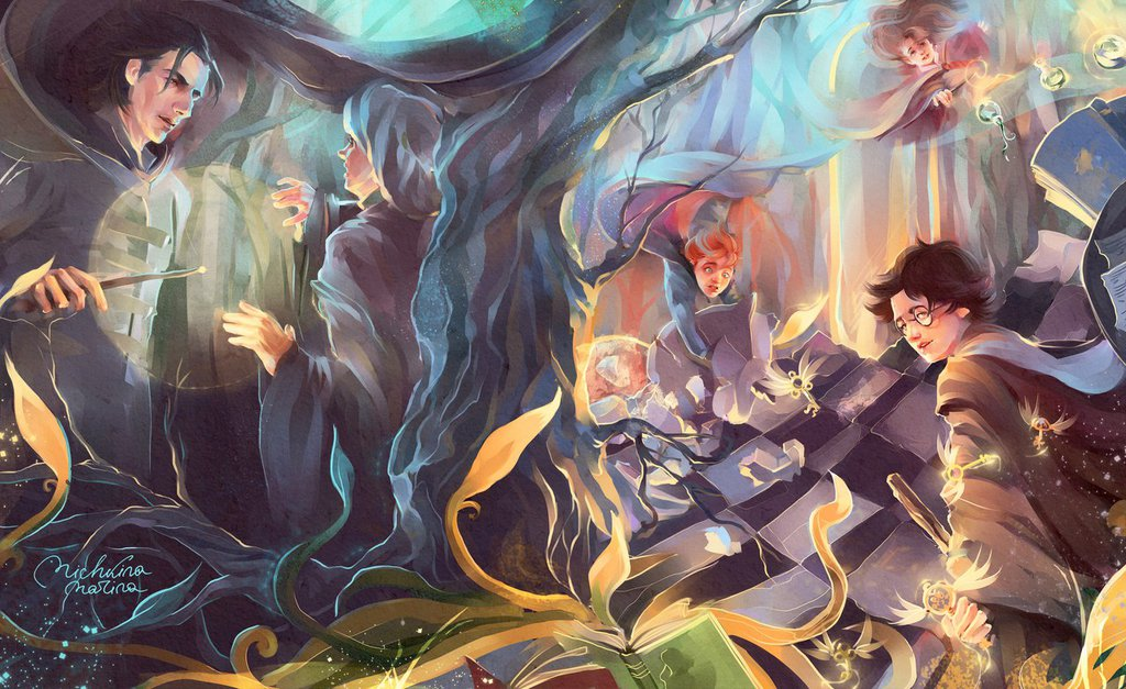 Harry Spells Potter Drawings