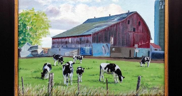 Art's Barn painting