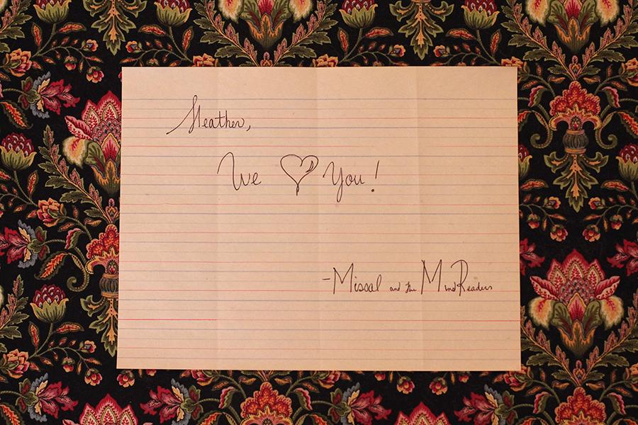 Love Letter from MatMR