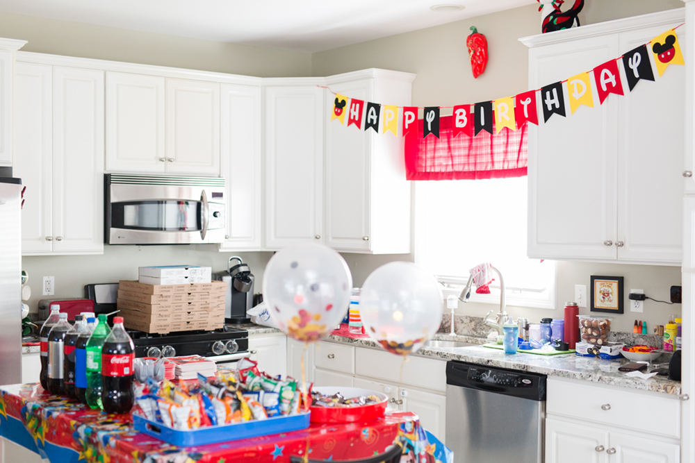 Kids Birthday Party Photography