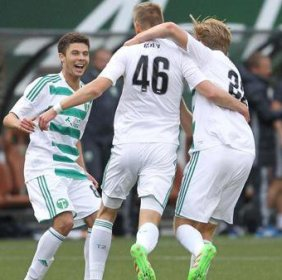 Bijev on the rise as Timbers II face rival Sounders II today at 4:30PM!!