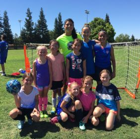 National Team player visits HPA PDP Campers!!