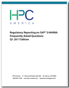 FERC on SAP S/4HANA