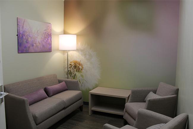 Grosvenor Interiors Maternity bereavement suite Leicester