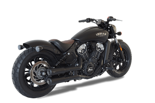 indian scout 60 black exhaust
