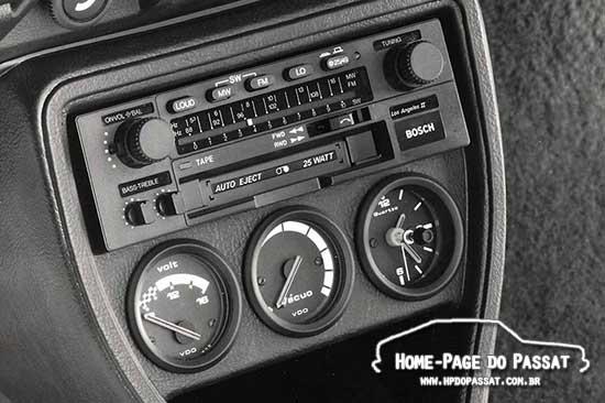 Console - Passat GTS Pointer 1984