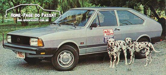 Passat LS Série Especial 1982