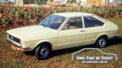 História do Passat - VW Passat L 1974